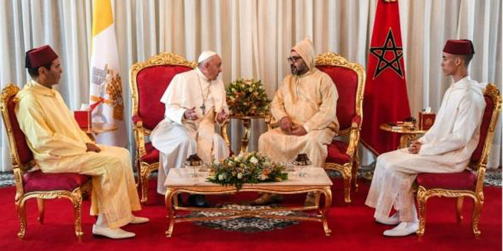 Pope Francis in Morocco